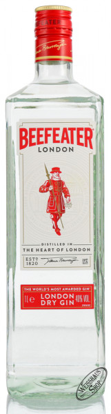 Beefeater London Dry Gin 40% vol. 1,0l