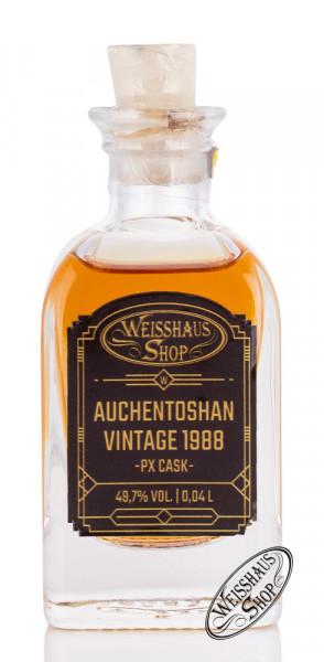 Auchentoshan Vintage 1988 PX Cask Whisky 49,7% vol. 0,04l Weisshaus Sample