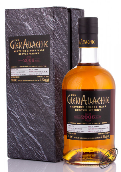 Glenallachie 2006 Single Cask Edition Whisky 61,4% vol. 0,70l