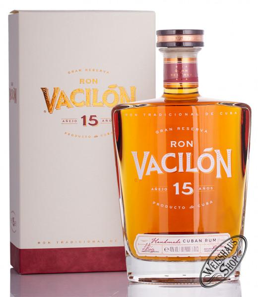 Ron Vacilon Anejo Gran Reserva 15 YO Rum 40% vol. 0,70l