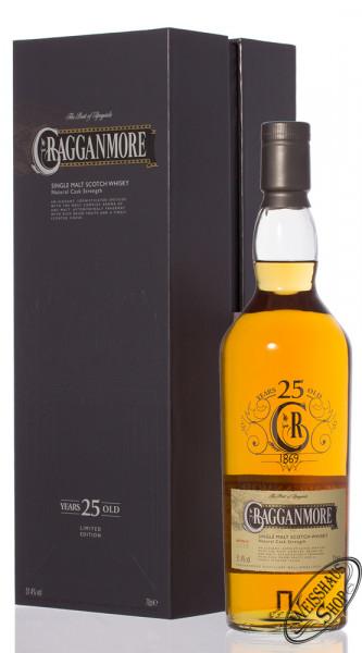 Cragganmore 25 YO Special Release 2014 Whisky 51,4% vol. 0,70l