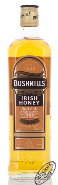 Bushmills Irish Honey Whiskey Likör 35% vol. 0,70l
