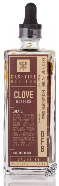 Dashfire Clove Bitters 38% vol. 0,10l