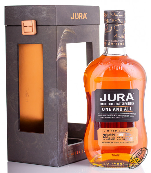 Isle Of Jura one and all 20 YO Whisky 51% vol. 0,70l
