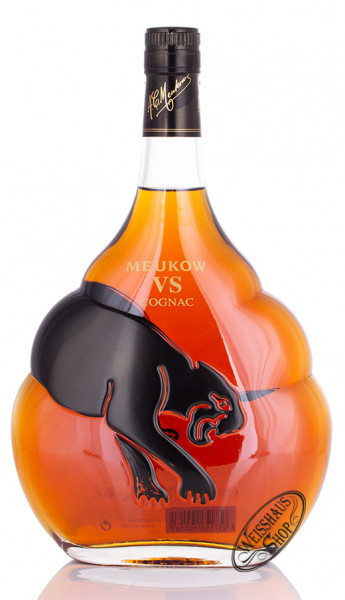 Meukow Cognac VS Black Edition 40% vol. 1,0l