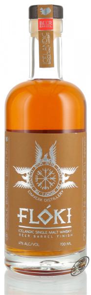Floki Icelandic Stout Beer Barrel Finish Whisky 47% vol. 0,70l