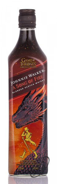 Johnnie Walker A Song of Fire Game of Thrones Edition Whisky 40,8% vol. 0,70l