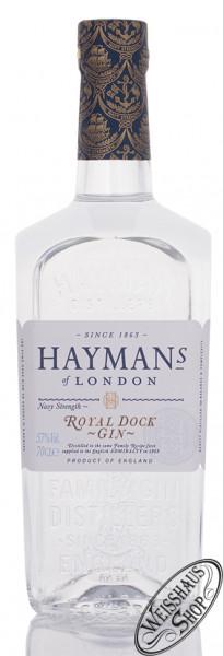 Hayman's Royal Dock Gin 57% vol. 0,70l