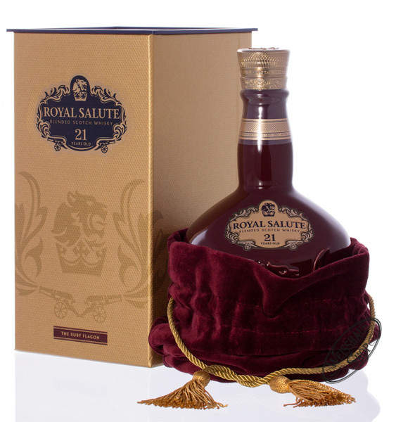 Chivas Regal Royal Salute 21 YO Ruby Edition Whisky 40% vol. 0,70l