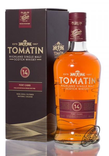 Tomatin 14 YO Port Wood Finish Whisky 46% vol. 0,70l
