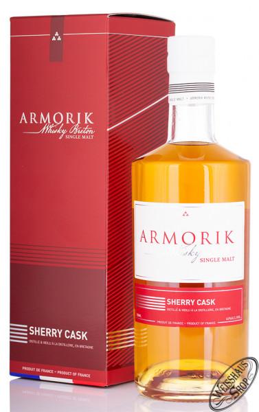 Armorik Sherry Cask Single Malt Whisky 46% vol. 0,70l