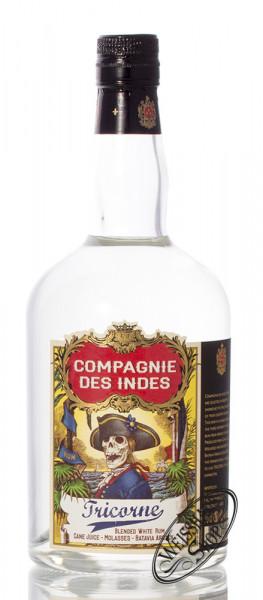 Compagnie des Indes Tricorne White Rum 43% vol. 0,70l